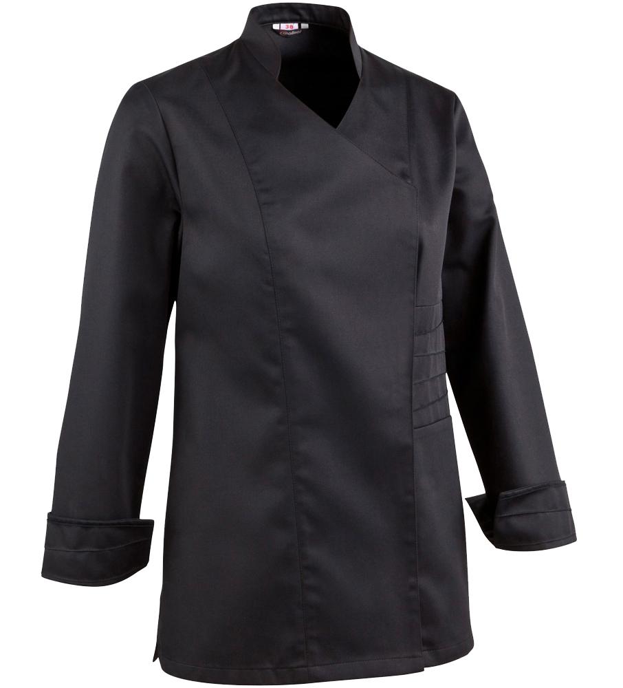 Veste de cuisine femme for Personnaliser sa veste de cuisine