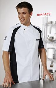 Veste bragard for Pantalon de cuisine bragard