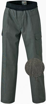 pantalon coupe confort pointill s noir et blanc molinel exalt 39 r. Black Bedroom Furniture Sets. Home Design Ideas