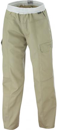 Pantalon mixte sable coupe confort molinel exalt 39 r - Pantalon de cuisine molinel ...